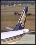 Singapore A340 tail