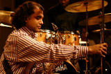 Rudresh Mahanthappa listens to Vijay's solo
