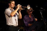 Peter Evans (trumpet), Perry Robinson (clarinet)