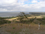 ...there's an overview of the area and the west coast of Ometepe