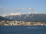across the Inner Harbour lies North Vancouver
