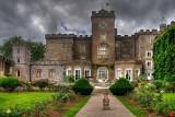 Back of castle, Powderham