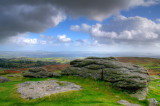 Slab o'rock, Haytor, Devon