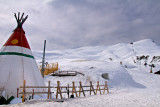 Tepee and slopes, Kleine Scheidegg
