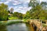 Stour and bridge, Sturminster Mill, Dorset