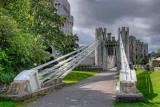 Castle bridge supports, Conwy