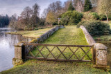 Turf bridge, Stourhead, Wiltshire