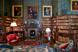 The library, Dunster Castle