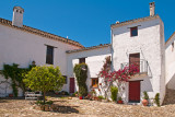 Pretty courtyard, Castellar de la Frontera