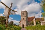 Easter cross, St. Martins, Broadmayne, Dorset