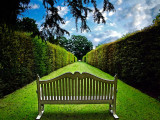 The seat, Hardwick Hall, Chesterfield (5641)