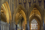Golden arches, Wells Cathedral