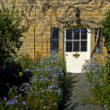 Garden path and door, Martock