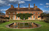 Barrington Court ~ pond and restaurant (2245)