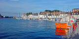 A splash of orange, Weymouth harbour, Dorset