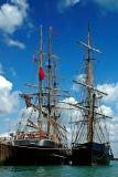 Tall ships, Weymouth harbour, Dorset