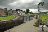 Lock gates, Fort Augustus