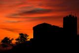 Brentor silhouette