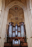 Organ pipes, Bath Abbey