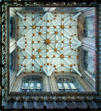 York Minster ~ tower ceiling