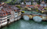 River Aare and bridge, Bern