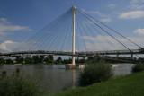 La Passerelle des deux  Rives, reliant Strasbourg à Kehl