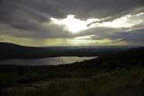 Eagle Lake under stormy skies
