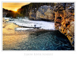 Elbow Falls Sunrise III