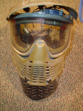 the mask from hell!! fan and chin guard