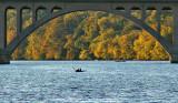 Key Bridge in fall