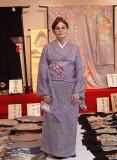 At the kimono shop