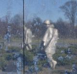 Korean War Memorial detail