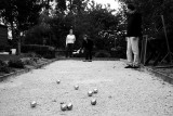 Pétanque at the Pope's