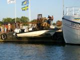 Livsfarlig sjösättning, Byxelkrok