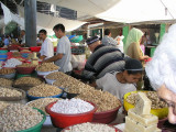 Another Uzbek bazaar - snack aisle