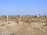Mary, Turkmenistan - ruins of Merv - old walls