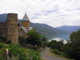 Northern Georgia - Ananauri - church & fortress complex