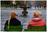 Blond hair spies.