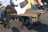 The black legs.