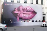 The big kiss.