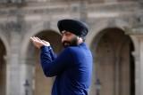 Sikh au Louvre.