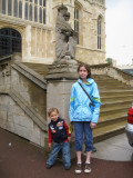 In front of St. George's Chapel