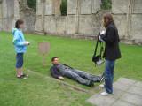 On King Arthur's gravesite