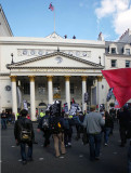 Red flag & Royal Threatre Haymarket