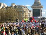 G20 in Trafalgar Square