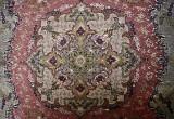 Beautiful Iranian Silk Carpet