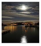 Moonlit snowscape # 2