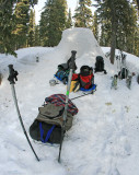 Spring Snowing ALong The Pacific Crest Trail