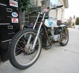 1970's Honda Trial  Basket Bike Awaiting A Revial,,,