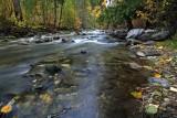 Fall Scene Along Mad River